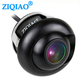 car front side view camera UK - Cheap Vehicle ZIQIAO CCD Car Front Rear View Parking Camera Night Vision HD Side View Reversing Camera HSB012