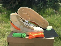 Ingrosso Con Box Orange Black Blazer MID Grim Reeper scarpe da corsa Stripe Cavan THE TEN PRESTRO scarpe da basket