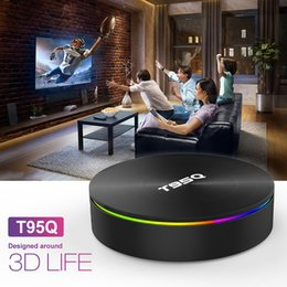 android tv dual box bluetooth 2019 - T95Q Android TV BOX 4GB 32GB Amlogic S905X2 Android 8.1 DDR4 2.4G 5GHz Dual Wifi Bluetooth 4K IPTV Android TV BOX