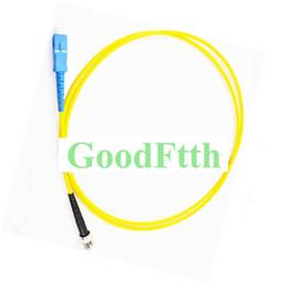 Sc St Fiber Australia - Fiber Patch Cord Jumper SC-ST UPC SC UPC-ST UPC SM Duplex GoodFtth 100-500m