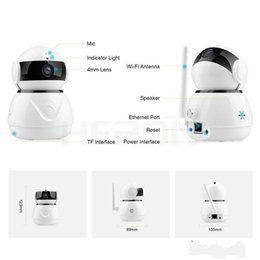 cctv security systems wholesale Canada - Wifi Camera 1080P Security Camera Smart Night Vision 2MP CCTV Camera Baby Monitor Home Security Surveillance Cameras System Wireless