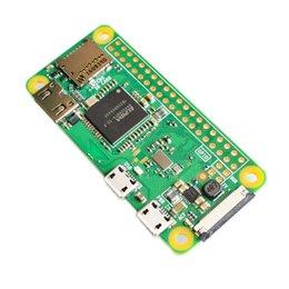 Vente en gros Livraison gratuite du tout dernier Raspberry Pi Zero W sans fil Pi 0 avec WIFI et unité centrale de traitement à 1 GHz et 512 Mo de RAM, sortie vidéo HD du système d'exploitation Linux 1080P
