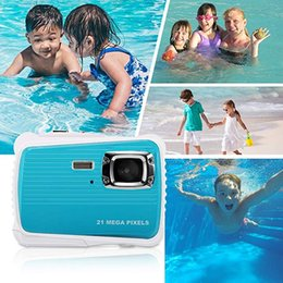 $enCountryForm.capitalKeyWord Australia - Kids Waterproof Camera 21MP HD Digital Camera with 2.0 Inch LCD Display 8X Digital Zoom Toddler Toys Travel Video Camera best gift