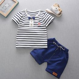 $enCountryForm.capitalKeyWord Australia - Kids summer Boys Set New Baby boy Casual Short Sleeve T-Shirt + Pants Sets 2 pieces Children clothing