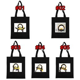 cartoon style backpacks Australia - 10 style Girl Cartoon Canvas Design handbag backpack shoulder bag Large Capacity Travel Storage Bags Shopping Casual Tote Wholesale BJJ315