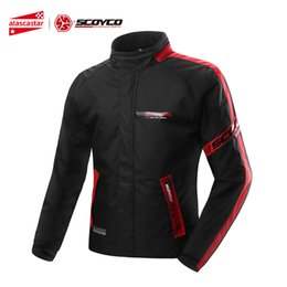 $enCountryForm.capitalKeyWord Australia - SCOYCO Motorcycle Jacket Men Windproof Waterproof Moto Jacket Motocross Protective Gear Motorbike Racing Moto Clothing M-3XL