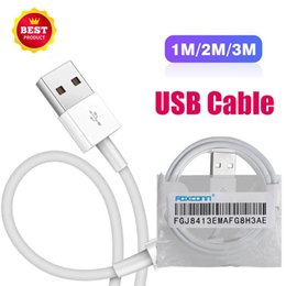 Original apple iphOne 5s charger online shopping - Hot from foxconn foctory original m ft E75 chip OD mm USB Data Sync charger cable for iphone X plus s c s SE