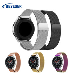 Milanese Loop For Gear Australia - Stainless Steel Watch Band Milanese Loop Watch Strap For Samsung Gear S3 22mm Band Strap for Samsung Galaxy 46mm Wristband