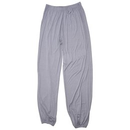 $enCountryForm.capitalKeyWord Australia - yoga pants Loose Modal bloomers pants home tai chi harem joggers sweat both men and women
