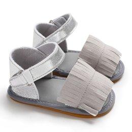 $enCountryForm.capitalKeyWord Australia - New Summer Kids Baby Girl PU Tassel Design Shoes Fashion Casual Soft Bottom Fringe Sandals Soft Sole Shoes Anti-slip Sandals