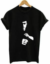 Sublimation Cotton NZ - Bruce Lee Whoa Sublimation Adult T-Shirt Cotton Shirt WORLDWIDE FREE SHIPPING Brand Men T shirt Casual Short sleeve