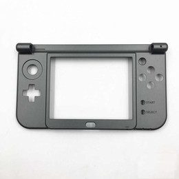 housing c Canada - Replacement Hinge Part Black Bottom Middle Shell Housing Case C Face Middle Frame Case for 2015 Nintendo New 3DS XL