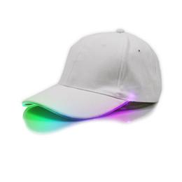 1b33ba6e426a9 LED Light Hat Luminous Bseball Cap With Headlamp Mutil-color Glow Party  Flashing Cap Outdoor Sports Hat Party Dress 1 Piece eParcel