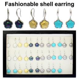 $enCountryForm.capitalKeyWord Australia - Chinese version of natural shell decoration New Zealand shell copper silver earrings earrings earrings