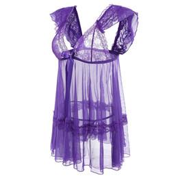 $enCountryForm.capitalKeyWord UK - Transparant Deep V Lace Sexy Lingerie With Thongs Women Lingerie Sexy Hot Erotic Temptation Nightwear Sex Costumes Underwear Set