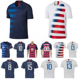 Chinese  National Team Soccer Jersey 8 CORONA 13 SARGENT JONES 9 ZARDES 7 BEASLEY WONDOLOWSKI ERTZ 10 LLOYD STADIUM Home Away Football Shirt Kits manufacturers