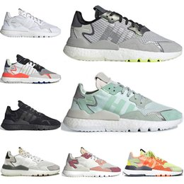 $enCountryForm.capitalKeyWord Australia - 3M Reflective fashion sneakers nite jogger trainers mens joggers jogging tennis running shoes Light Solid Grey ICE MINT womens tennis shoes