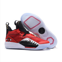 fa57923ba84b 33 Utility Blackout basketball shoes mens sports shoes Gym Red Chicago TECH  PACK 33s PE luxury Athletic sneakers designer shoes SIZE 40-46