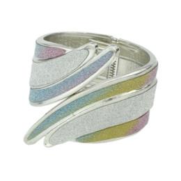 $enCountryForm.capitalKeyWord Australia - FANHUA Colorful Irregular Arm Cuff Bracelets Hippie Punk Rock Big Bangles For Women Fashion Jewelry New Designer Bijoux