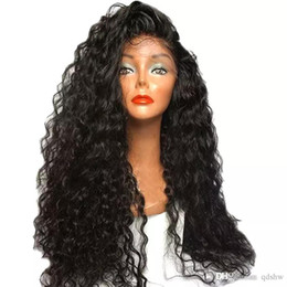 $enCountryForm.capitalKeyWord Australia - Curly Full Lace Human Hair Wigs With Baby Hair Glueless Virgin Brazilian Curl Lace Front Wig For Black Women
