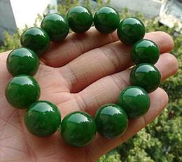 $enCountryForm.capitalKeyWord Australia - adeware straight jade jewelry single circle ball spinach green fashion string natural a goods Taiwan jasper bracelet