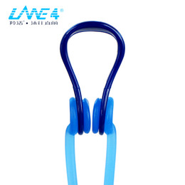 $enCountryForm.capitalKeyWord NZ - wholesale Accessories Silicone Pad Nose Clip with head strap and Care Case Chlorine-proof Lightweight sested for adults