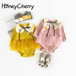 86f100fd8424 Autumn Explosion Female Baby Romper Baby Swan, Conjoined Clothing, 0-6-12  Months Clothing Baby Girl Clothes Y19050602