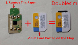 3m iphone Australia - Free DHL 3M Double Sided Adhesive BLACK Double-sim Unlock card with for iPhone 5S 6 6S 7 8 X XS XR XSMAX