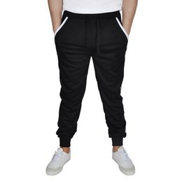 Men Bottoming Australia - New Mens Joggers Casual Pants Fitness Men Sportswear Tracksuit Bottoms Sweatpants Trousers Black Gyms Jogger Track Pants