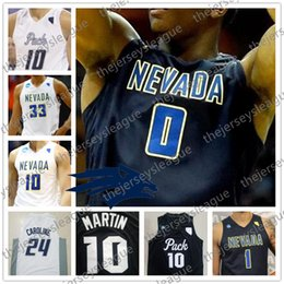 $enCountryForm.capitalKeyWord NZ - Custom Nevada Wolf Pack Any Name Any Number White Black Stitched #10 Caleb Martin 11 Cody NCAA College Basketball Jerseys