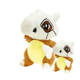 Cute large plush toys online shopping - 30cm Cubone Stuffed Animals Soft Large Anime Stuffed Plush Toy Kawaii Cute Cartoon Toy for Kid Christmas Toys