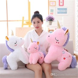 $enCountryForm.capitalKeyWord UK - 20170722 The New Product Of Cute Unicorn Doll Pillow Girl Plush Toys To Sleep On The Bed A Birthday Present Free Shipping