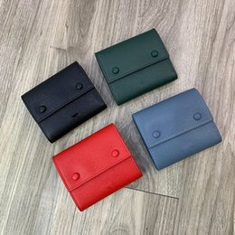 Wholesale tri day online – design Leather tri fold wallet female short paragraph toothpick grain cowhide wallet long section of high capacity two fold wallet new small