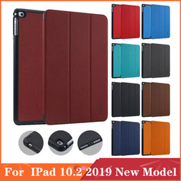 pen ipad mini Australia - For IPad 10.2 2019 New Model Moshi Business Style Tri-folding With Apple Pen Holder Flip Magnetic Stand Cover Case