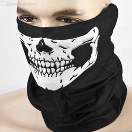 $enCountryForm.capitalKeyWord NZ - Wholesale-Hot Selling Skull Ghost Face Windproof Mask Outdoor Sports Motorcycle Warm Ski Caps Balaclavas Scarf E10104