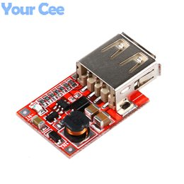 usb boost module UK - Integrated Circuits DC-DC Converter Output Step Up Boost Power Supply Module 3V to 5V 1A USB Charger For Phone MP3 MP4 96% Efficiency