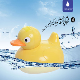 waterproof mp3 player for shower NZ - Baby shower Bluetooth Speaker Wireless Stereo Loudspeaker Portable IPX7 Waterproof Speaker Duck MP3 Baby Speakers for IPhone Samsung Xiaomi