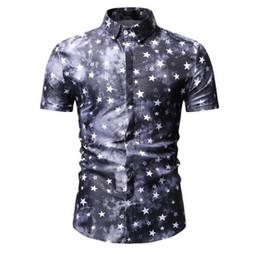Discount plus size white button down shirt - Mens Beach Hawaiian Shirt Tropical Summer Short Sleeve Shirt Men Brand Clothing Casual Loose Cotton Button Down Shirts P