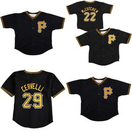 $enCountryForm.capitalKeyWord UK - Infant Toddler baby Willie Stargell Roberto Clemente Kent Tekulve Francisco Cervelli Pirates Jersey stitched