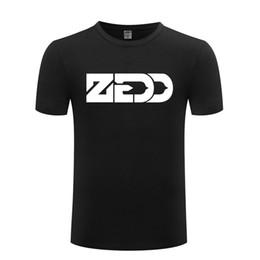 Cool T Shirts Men Australia - Music Rock DJ ZEDD Printed T Shirts Men Hip Hop Short Sleeve O Neck Cotton Man T-Shirt Cool Funny Streetwear Top Tee Big Size