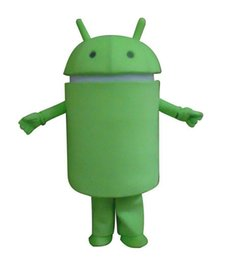 China Professional Android Robot Mascot Costume Facny Dress Adult Size suppliers