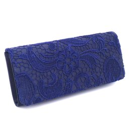 white lace evening bag Australia - DesignerFashion evening bags clutches for women satin material evening bag elegant lace ladies wedding bag shoulder bags