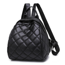 $enCountryForm.capitalKeyWord NZ - Charismatic2019 Student Pattern Leisure Time Diamond Lattice Small Backpack Joker Straps Personality Tide Three Use Both Shoulders Bag Cross