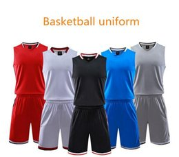 $enCountryForm.capitalKeyWord Canada - New basketball uniform suit Youth group competition training team uniform custom vest shorts sports jersey.Cool