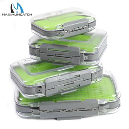 $enCountryForm.capitalKeyWord Australia - Fishing Tackle Boxes Maximumcatch Fly Fishing Box Easy-grip Silicone Insert Tackle Boxes Double Side Clear Lid Fly Box