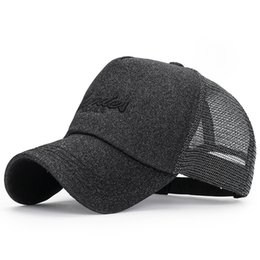 Black Diamond Powder Australia - New summer Diamond Powder Fashion Breathable Mesh Cap Summer Men's And Women's Baseball Caps Outdoor Adjustable