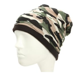 Hat mask men online shopping - Outdoor Camouflage Skullies Men Hat Hiking Cycling Fishing NeckScarf Windproof Camouflage Face Mask Neck Scarves Wraps Headwear
