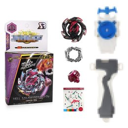 Rapidity metal beyblade online shopping - B113 Beyblade Toy Metal Fusion Spinning Top Toys Metal Master Fast Rapidity Beyblade with Handle Pull line Launcher BB837B