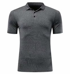 Discount polo sport clothes - Mens Polo Shirt Quick Dry Sport Clothing 2019 Short Sleeve Summer Tennis Shirt Basketball GYM Running Badminton Soccer T