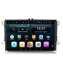 build multi touch screen Australia - Android car radio with front camera free map excellent bluetooth microphone multi-touch screen music fast delivery for Volkswagen 9inch